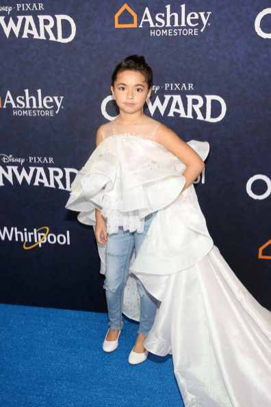 HOLLYWOOD, CALIFORNIA - FEBRUARY 18: Lili Garcia attends the world premiere of Disney and Pixar's ONWARD at the El Capitan Theatre on February 18, 2020 in Hollywood, California. (Photo by Jesse Grant/Getty Images for Disney)