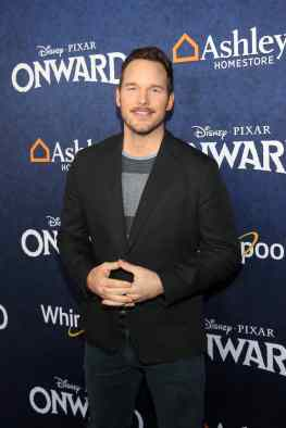 HOLLYWOOD, CALIFORNIA - FEBRUARY 18: Chris Pratt attends the world premiere of Disney and Pixar's ONWARD at the El Capitan Theatre on February 18, 2020 in Hollywood, California. (Photo by Jesse Grant/Getty Images for Disney)