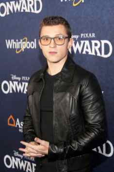 HOLLYWOOD, CALIFORNIA - FEBRUARY 18: Tom Holland attends the world premiere of Disney and Pixar's ONWARD at the El Capitan Theatre on February 18, 2020 in Hollywood, California. (Photo by Jesse Grant/Getty Images for Disney)