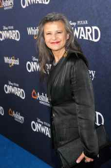 HOLLYWOOD, CALIFORNIA - FEBRUARY 18: Tracey Ullman attends the world premiere of Disney and Pixar's ONWARD at the El Capitan Theatre on February 18, 2020 in Hollywood, California. (Photo by Jesse Grant/Getty Images for Disney)
