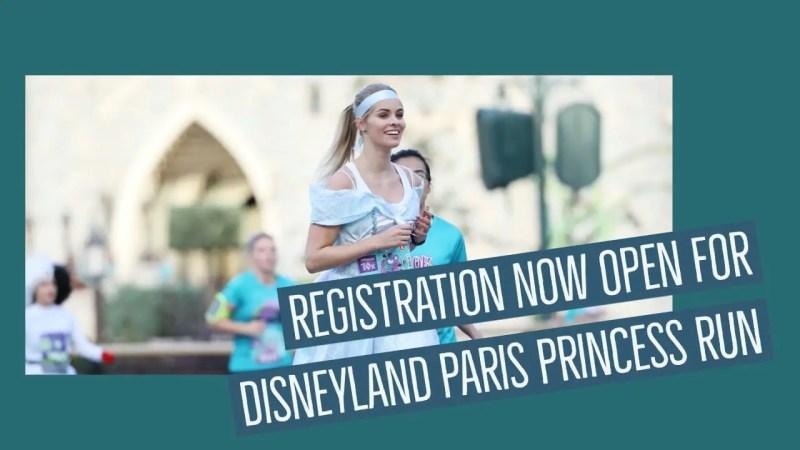 Registration Now Open for Disneyland Paris Princess Run