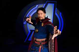 Avengers Campus, opening July 18, 2020, at Disney California Adventure Park in Anaheim, California, brings together Earth's Mightiest Heroes for the common good, and they're calling all recruits to join the action: Team up with the Avengers and their allies. While exploring Avengers Campus, new recruits may encounter Doctor Strange demonstrating mystic arts in The Sanctum. (Joshua Sudock/Disneyland Resort)