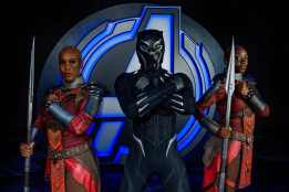 Avengers Campus, opening July 18, 2020, at Disney California Adventure Park in Anaheim, California, brings together Earth's Mightiest Heroes for the common good, and they're calling all recruits to join the action: Team up with the Avengers and their allies. Recruits can train with Black Panther's loyal bodyguards, the Dora Milaje, to learn wisdom from Wakanda and what it's like to be to be a member of this elite royal guard. (Joshua Sudock/Disneyland Resort)