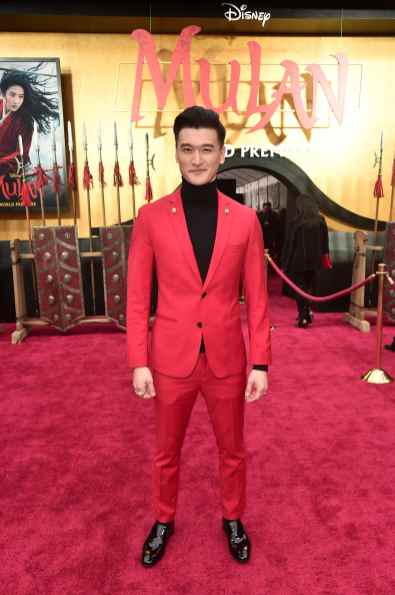 HOLLYWOOD, CALIFORNIA - MARCH 09: Chen Tang attends the World Premiere of Disney's 'MULAN' at the Dolby Theatre on March 09, 2020 in Hollywood, California. (Photo by Alberto E. Rodriguez/Getty Images for Disney)
