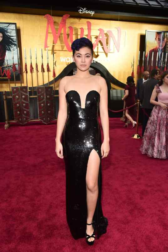 HOLLYWOOD, CALIFORNIA - MARCH 09: Jessica Henwick attends the World Premiere of Disney's 'MULAN' at the Dolby Theatre on March 09, 2020 in Hollywood, California. (Photo by Alberto E. Rodriguez/Getty Images for Disney)