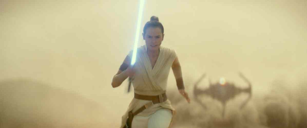 Rey (Daisy Ridley) in STAR WARS: EPISODE IX