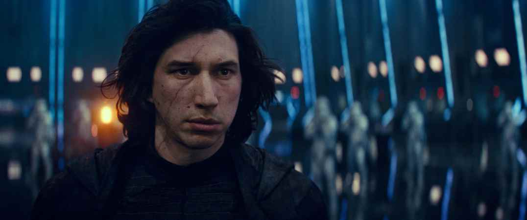 Adam Driver is Kylo Ren in STAR WARS: THE RISE OF SKYWALKER.