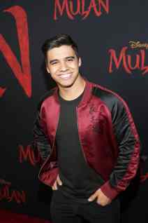 HOLLYWOOD, CALIFORNIA - MARCH 09: Jordan Buhat attends the World Premiere of Disney's 'MULAN' at the Dolby Theatre on March 09, 2020 in Hollywood, California. (Photo by Jesse Grant/Getty Images for Disney)