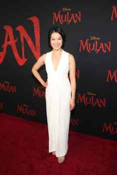 HOLLYWOOD, CALIFORNIA - MARCH 09: Kara Wang attends the World Premiere of Disney's 'MULAN' at the Dolby Theatre on March 09, 2020 in Hollywood, California. (Photo by Jesse Grant/Getty Images for Disney)