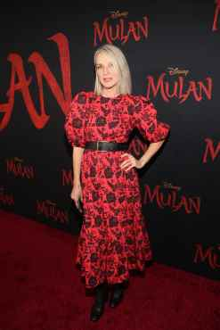 HOLLYWOOD, CALIFORNIA - MARCH 09: Ever Carradine attends the World Premiere of Disney's 'MULAN' at the Dolby Theatre on March 09, 2020 in Hollywood, California. (Photo by Jesse Grant/Getty Images for Disney)