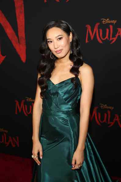 HOLLYWOOD, CALIFORNIA - MARCH 09: Xang Tang attends the World Premiere of Disney's 'MULAN' at the Dolby Theatre on March 09, 2020 in Hollywood, California. (Photo by Jesse Grant/Getty Images for Disney)