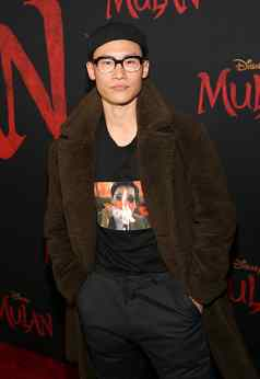 HOLLYWOOD, CALIFORNIA - MARCH 09: Curtis Lum attends the World Premiere of Disney's 'MULAN' at the Dolby Theatre on March 09, 2020 in Hollywood, California. (Photo by Jesse Grant/Getty Images for Disney)