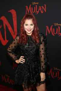 HOLLYWOOD, CALIFORNIA - MARCH 09: Erin Robinson attends the World Premiere of Disney's 'MULAN' at the Dolby Theatre on March 09, 2020 in Hollywood, California. (Photo by Jesse Grant/Getty Images for Disney)