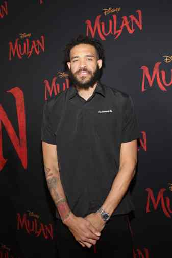 HOLLYWOOD, CALIFORNIA - MARCH 09: JaVale McGee attends the World Premiere of Disney's 'MULAN' at the Dolby Theatre on March 09, 2020 in Hollywood, California. (Photo by Jesse Grant/Getty Images for Disney)