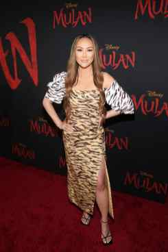 HOLLYWOOD, CALIFORNIA - MARCH 09: Dorothy Wang attends the World Premiere of Disney's 'MULAN' at the Dolby Theatre on March 09, 2020 in Hollywood, California. (Photo by Jesse Grant/Getty Images for Disney)