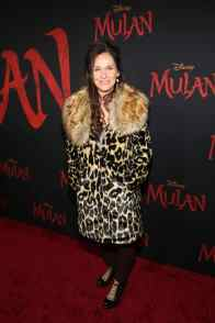 HOLLYWOOD, CALIFORNIA - MARCH 09: Amy Brenneman attends the World Premiere of Disney's 'MULAN' at the Dolby Theatre on March 09, 2020 in Hollywood, California. (Photo by Jesse Grant/Getty Images for Disney)