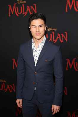 HOLLYWOOD, CALIFORNIA - MARCH 09: Max Willems attends the World Premiere of Disney's 'MULAN' at the Dolby Theatre on March 09, 2020 in Hollywood, California. (Photo by Jesse Grant/Getty Images for Disney)