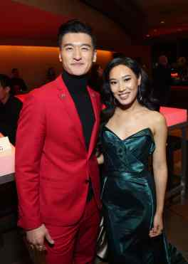 HOLLYWOOD, CALIFORNIA - MARCH 09: Chen Tang and Xana Tang attend the World Premiere of Disney's 'MULAN' at the Dolby Theatre on March 09, 2020 in Hollywood, California. (Photo by Jesse Grant/Getty Images for Disney)