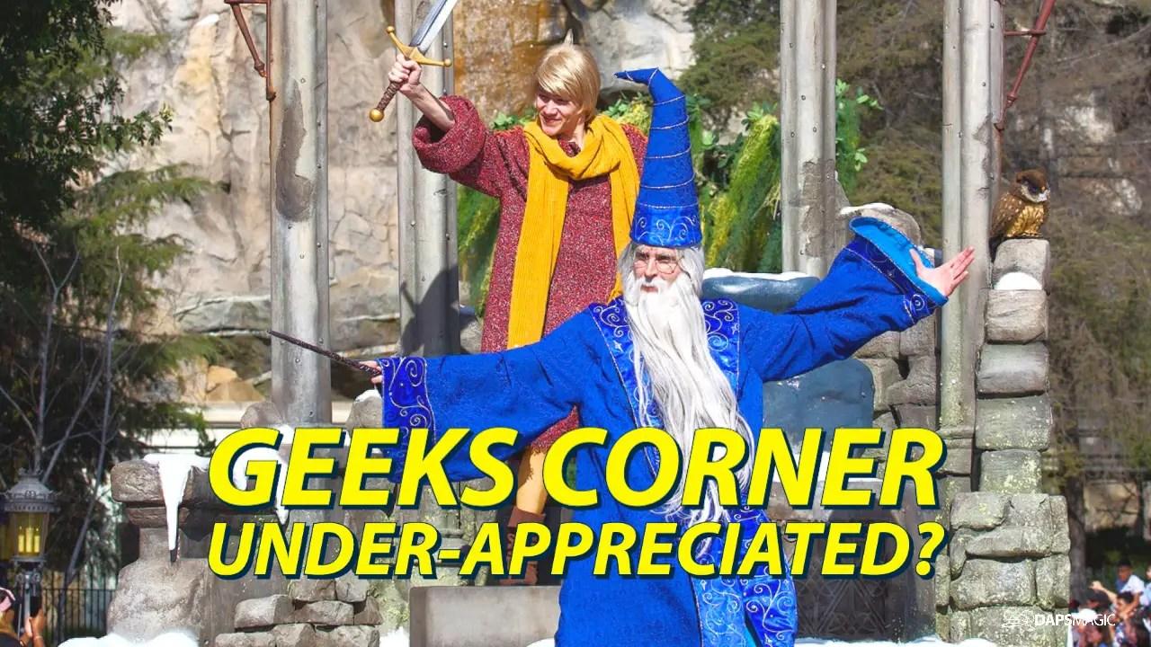 Under-Appreciated? – GEEKS CORNER – Episode 1027 (#498)