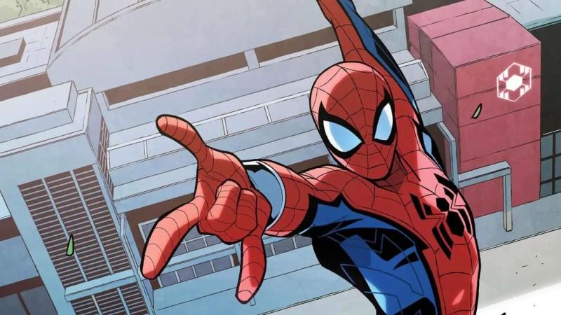 W.E.B. of Spider-Man Comic Book Cover