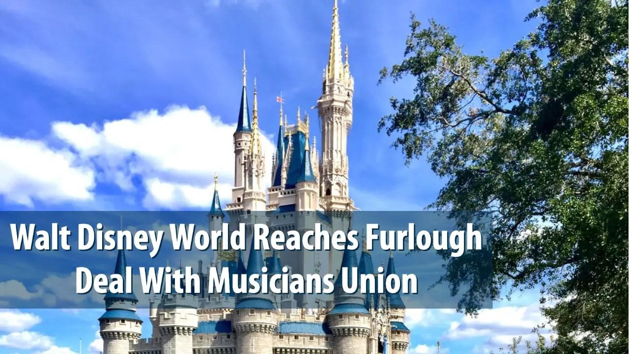Walt Disney World Reaches Furlough Deal With Musicians Union