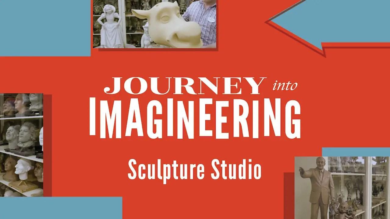 Virtual Tour of the Sculpture Studio at Walt Disney Imagineering