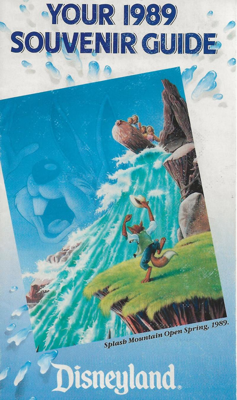 Detail of the 1989 Guide Map front cover
