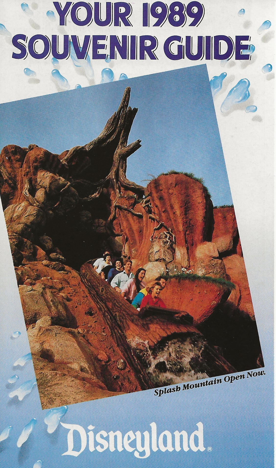 Detail of the 1989 Guide Map front cover, final state