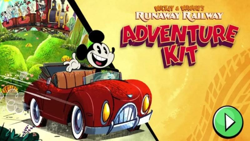 Mickey & Minnie's Runaway Railway_ Adventure Kit