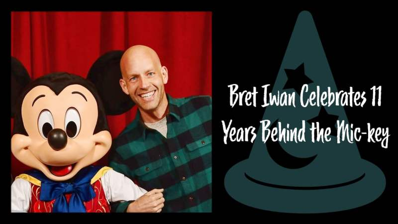 Bret Iwan Celebrates 11 Years Behind the Mic-key