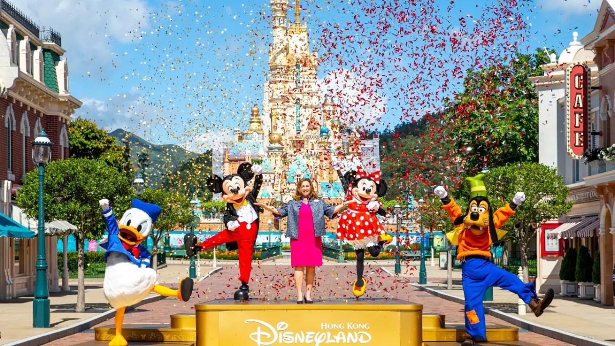 Hong Kong Disneyland Reopening Moment