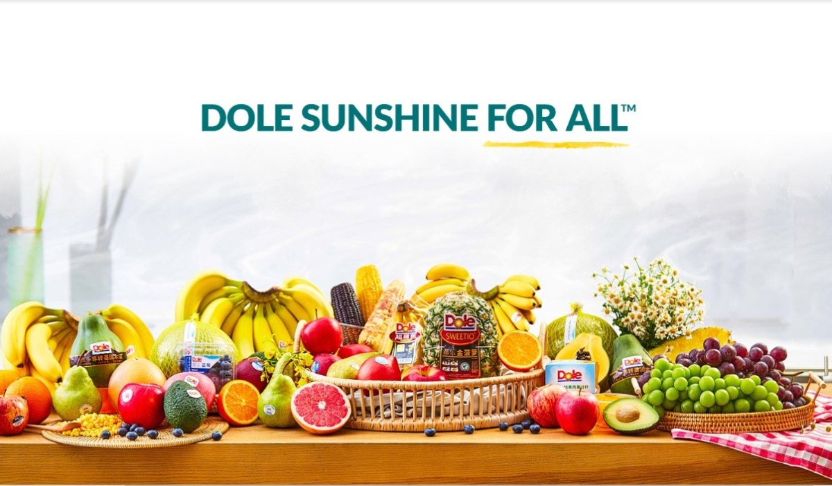 Select products from Dole China
