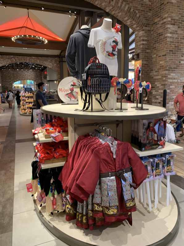 Mulan Merchandise - World of Disney