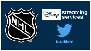 NHL Disney Streaming Services Twitter