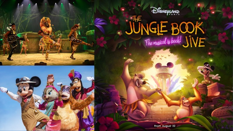 The Lion King and the Rhythms of the Earth and the Rhythm of the Jungle Arrive at Disneyland Paris in August