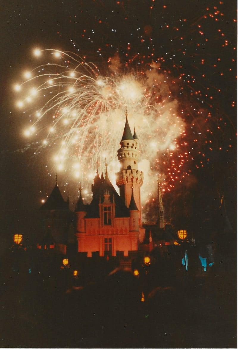 Disneyland Fireworks 1990