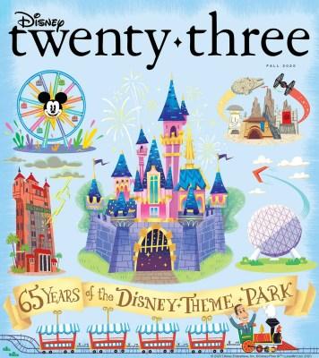 Fall 2020 Disney Twenty-Three Cover