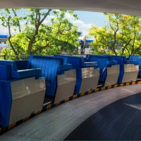 Magic Kingdom's Tomorrowland Transit Authority PeopleMover Under Refurbishment Through Halloween