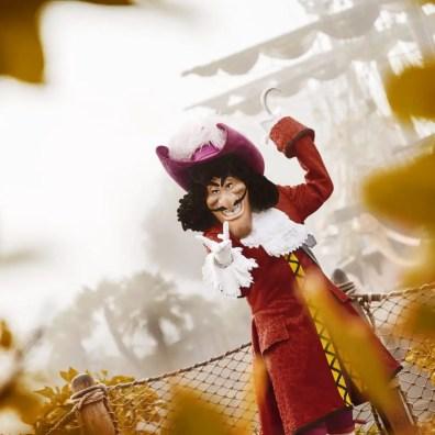 Captain Hook - Disneyland Paris