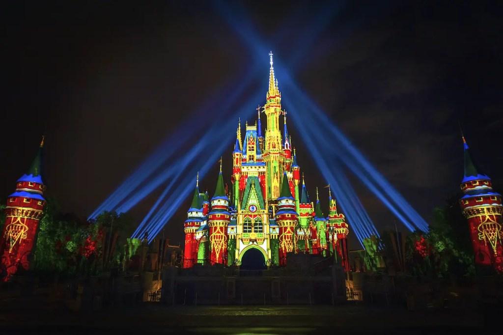 Cinderella Castle - Holiday Projections