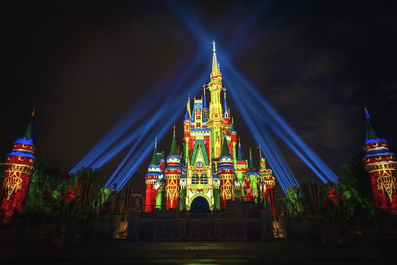 Cinderella Castle - Holiday Projections