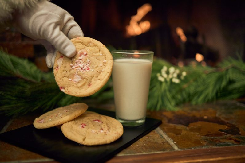 """""""Ode to Santa"""", Milk or Eggnog with Candy Cane Cookies"""
