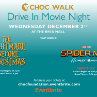 GIVEAWAY - Attend Next Week's CHOC Walk Drive-In Movie Night Double Feature