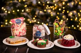 The Taste of EPCOT International Festival of the Holidays presented by AdventHealth brings seasonal fun from around the globe to the Walt Disney World Resort theme park in Lake Buena Vista, Fla., through Dec. 31, 2020. Holiday Kitchens located throughout World Showcase offer tasty treats of the season, including Holiday Hearth in World Showplace. (Matt Stroshane, photographer)