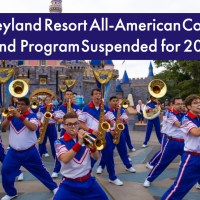 Disneyland Resort All-American College Band Program Suspended for 2021