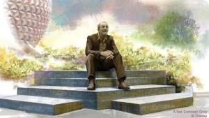 Walt Disney Dreamer's Point Statue - Featured Image