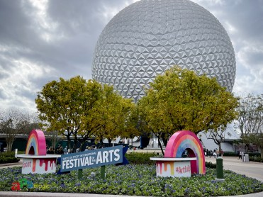 Spaceship Earth and Festival of the Arts Photo Location