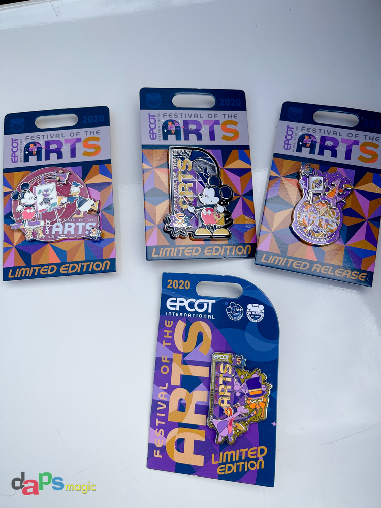 Festival of the Arts Pins