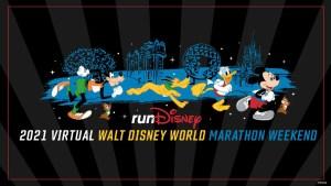 runDisney Virtual 2021 Walt Disney World Marathon Weekend