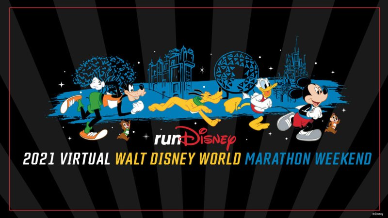 runDisney Virtual 2021 Walt Disney World Marathon Weekend